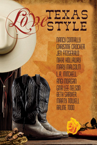 Love Texas Style romance anthology published by the North Texas Romance Writers of America